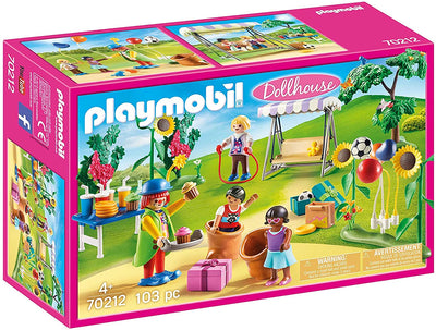 Playmobil Dollhouse 70212 Children's Birthday Party