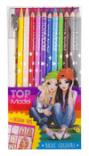 TOPModel Coloured Pencils 12pk