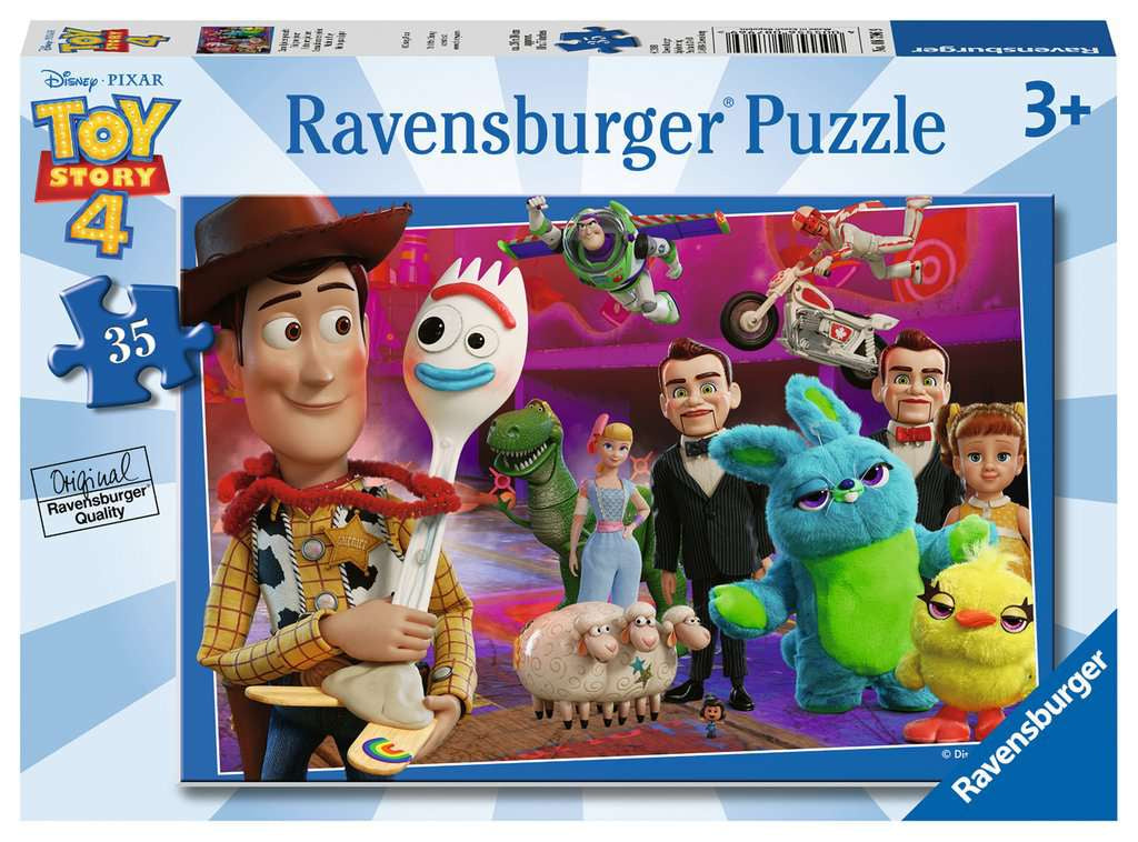 Toy Story 4 35pc Jigsaw Puzzle