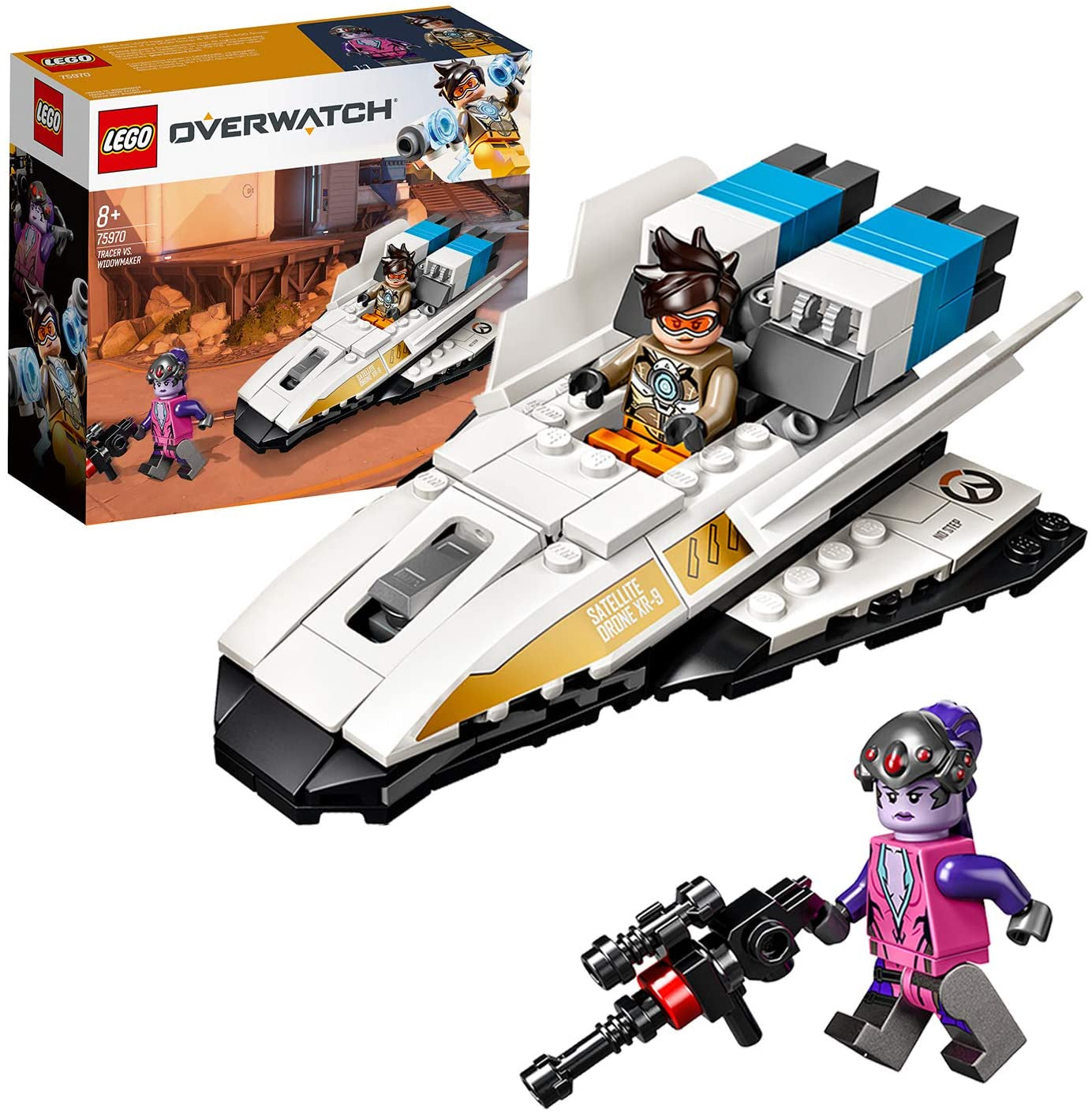 Lego OVERWATCH 75970 Tracer Widowmaker