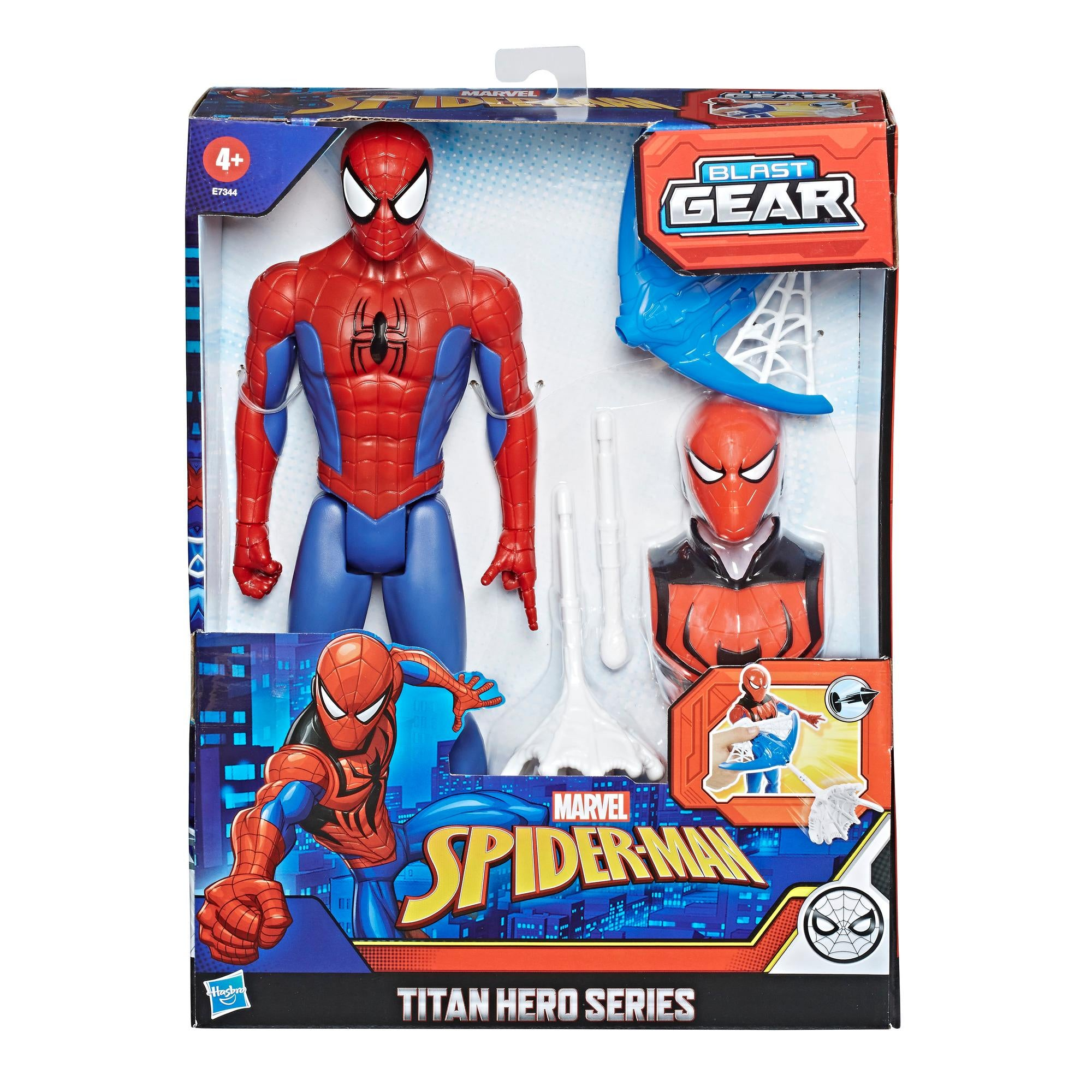 Spiderman Titan Hero Innovation Blast Gear Spiderman by venntov