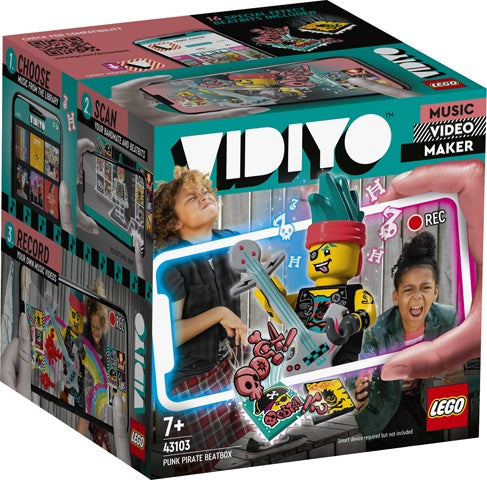 Lego Vidiyo 43103 Punk Pirate BeatBox Video Maker