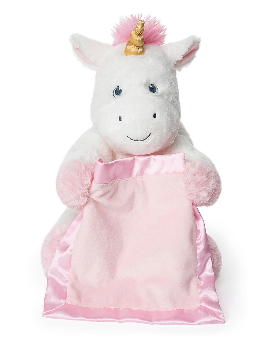 Gund Peek A Boo Unicorn Soft Toy