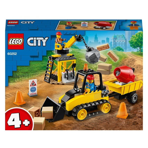 Lego City 60252 Construction Bulldozer
