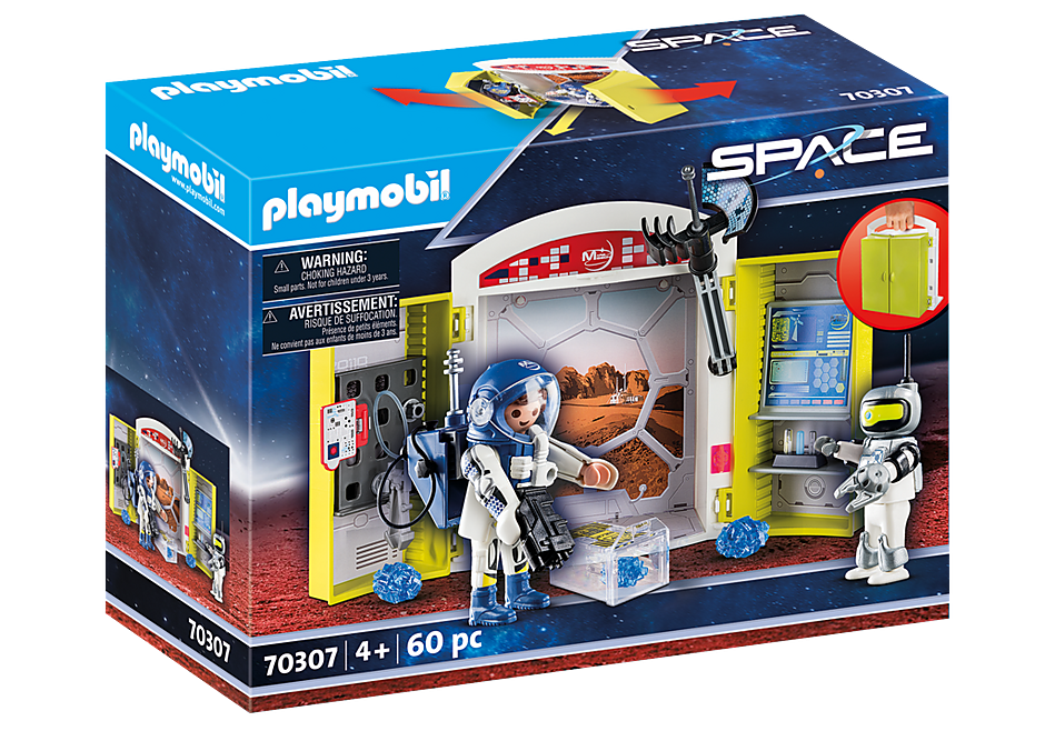 Playmobil Space 70307 Mars Mission Play Box