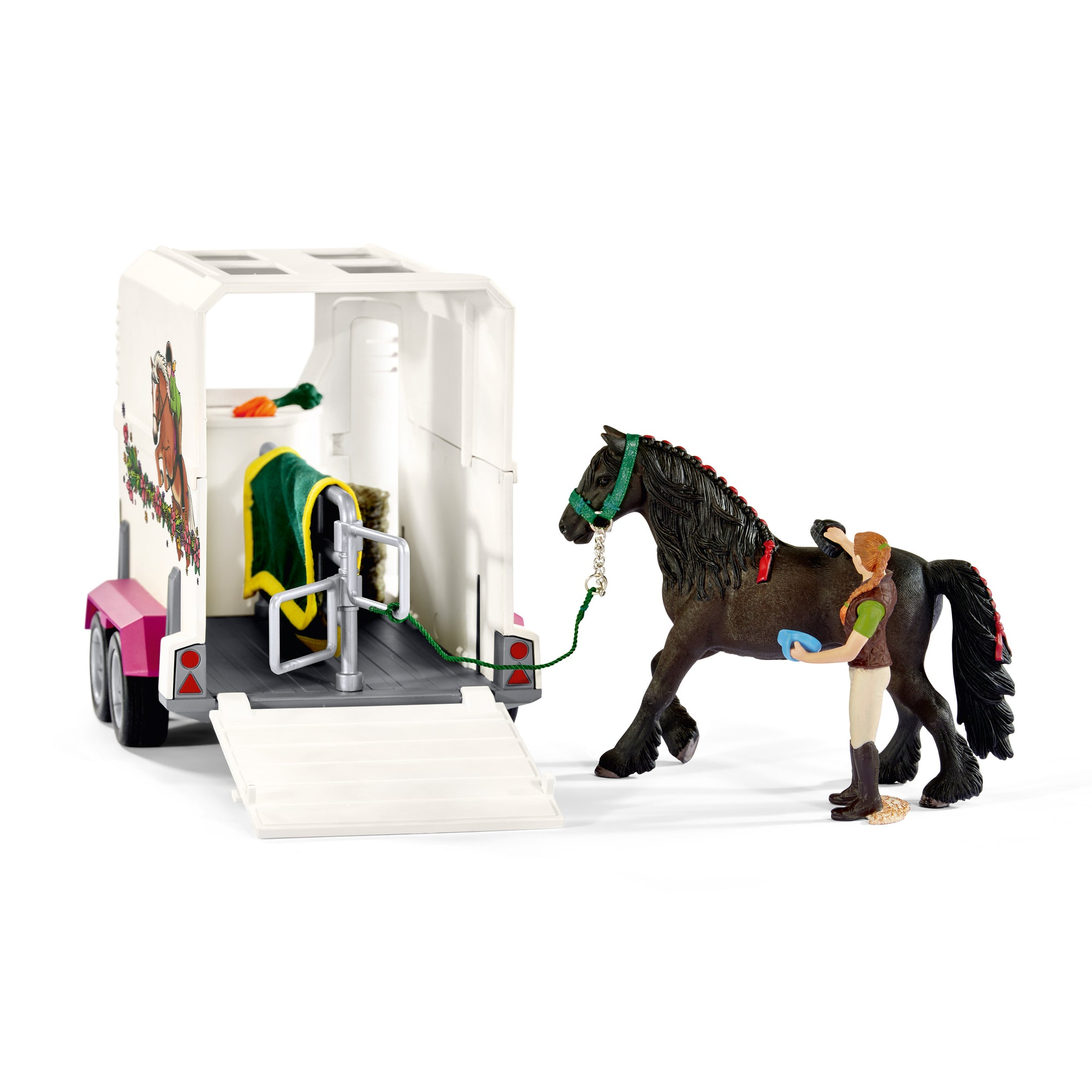 Schleich 42346 Horse Club Pick Up with Horse Box