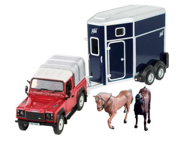 Britains 43239 Land Rover and Horse Set