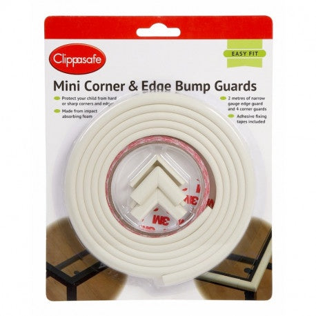 Clippasafe Mini Corner & Edge Bump Guards #77/8