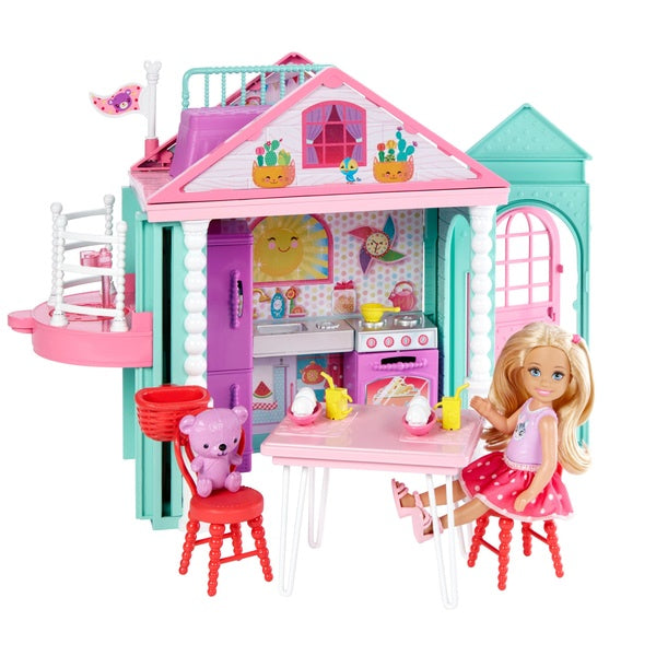Barbie Club Chelsea Portable Playhouse And Doll