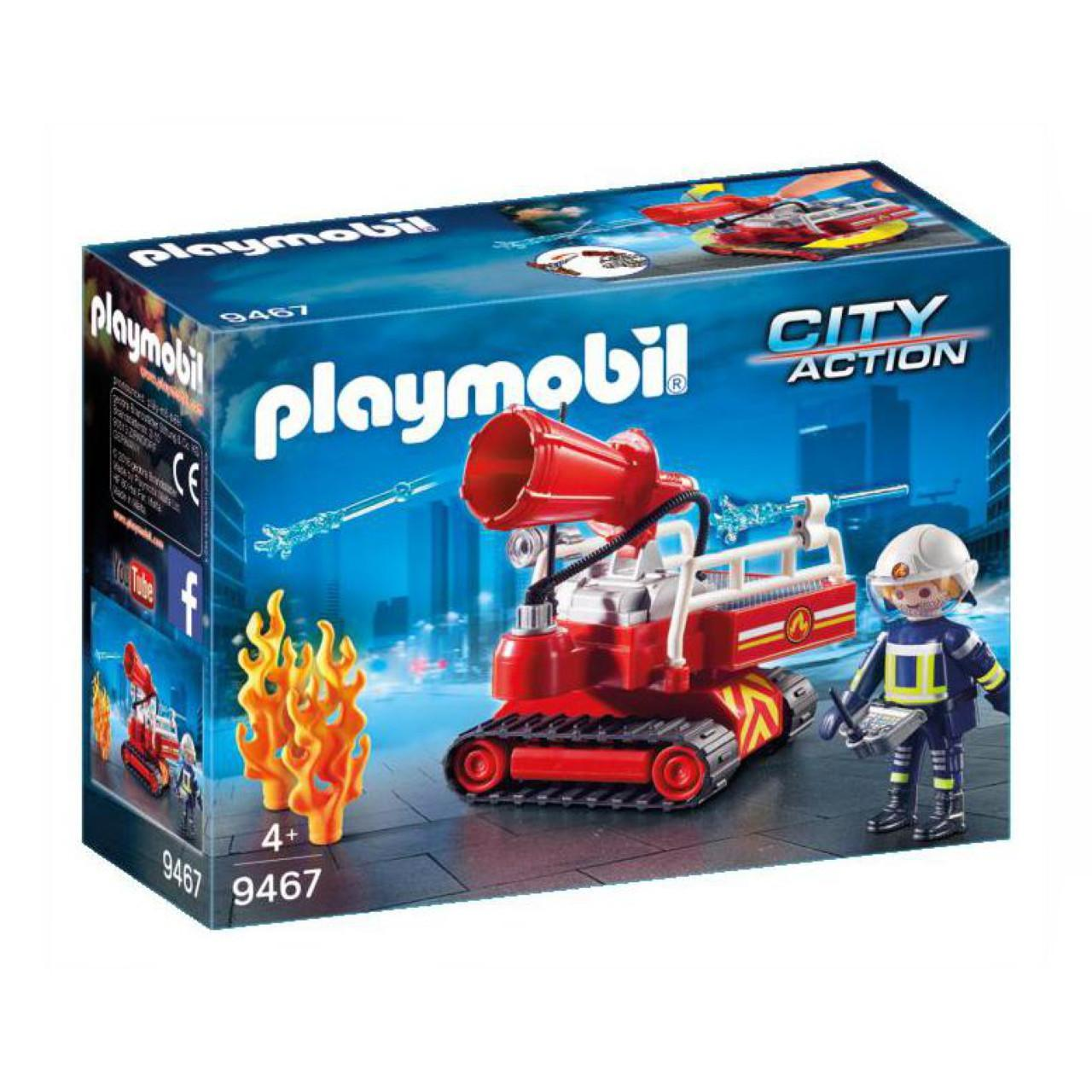 Playmobil City Action 9467 Fire Water Cannon
