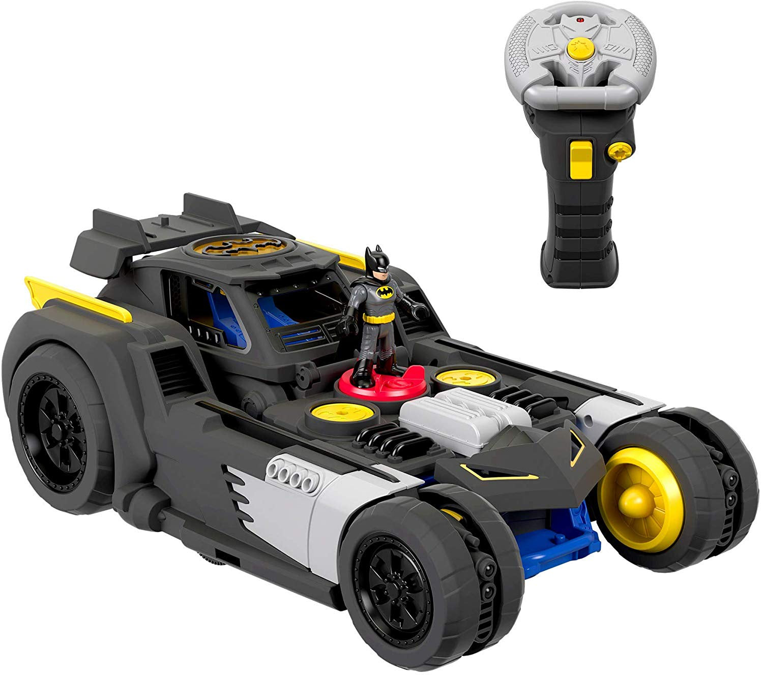 Imaginext DC Superfriends R/C Transforming Batmobile