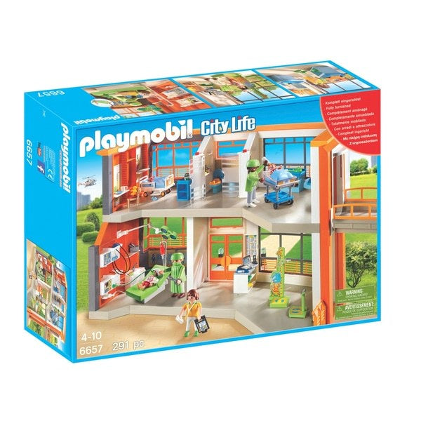 Playmobil City Life 6657 Furnished Childrens Hospital