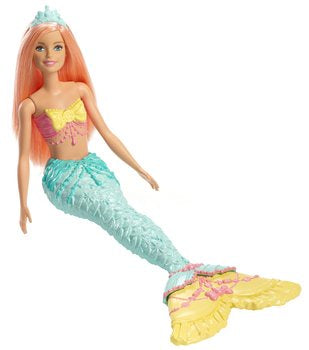 Barbie Dreamtopia Mermaid Doll - Coral