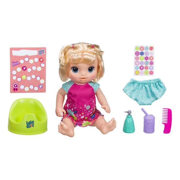 Baby Alive Potty Dance Baby Blonde