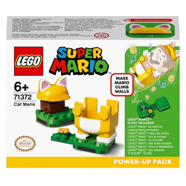 Lego Super Mario 71372 Cat Mario Power Up Pack