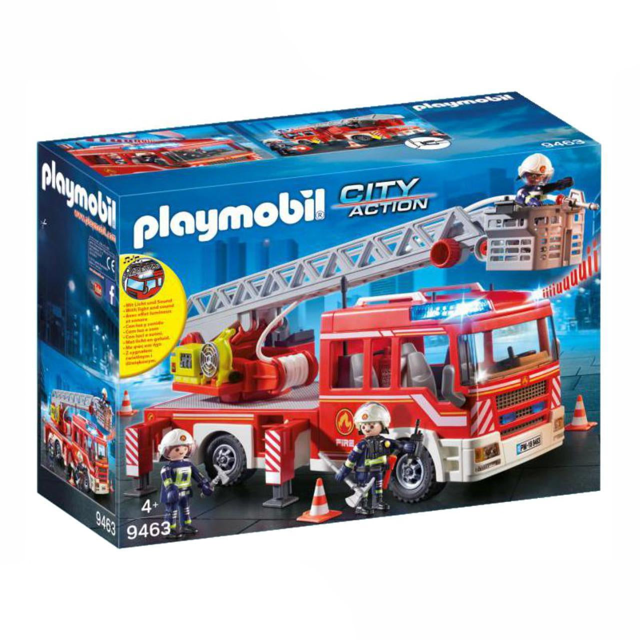 Playmobil City Action 9463 Fire Ladder Unit Vehicle