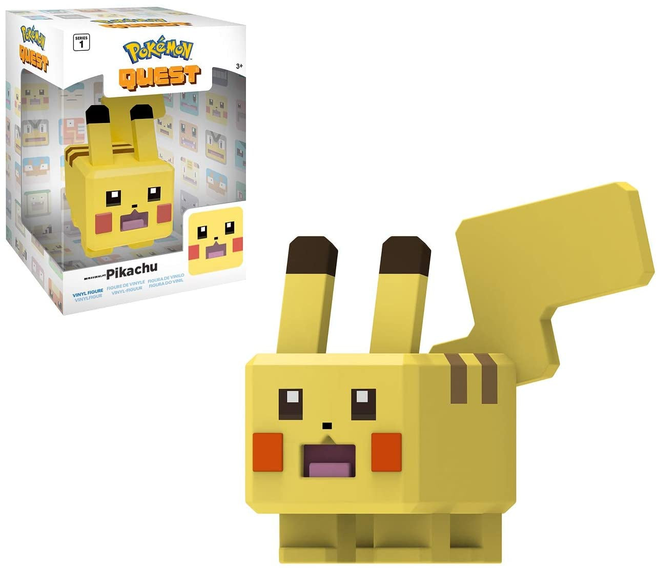 Pokemon 4' Vinyl Figures Pikachu