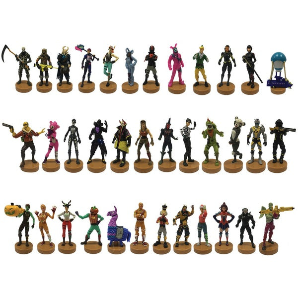 Fortnite Stampers Figure 4pk Assorted
