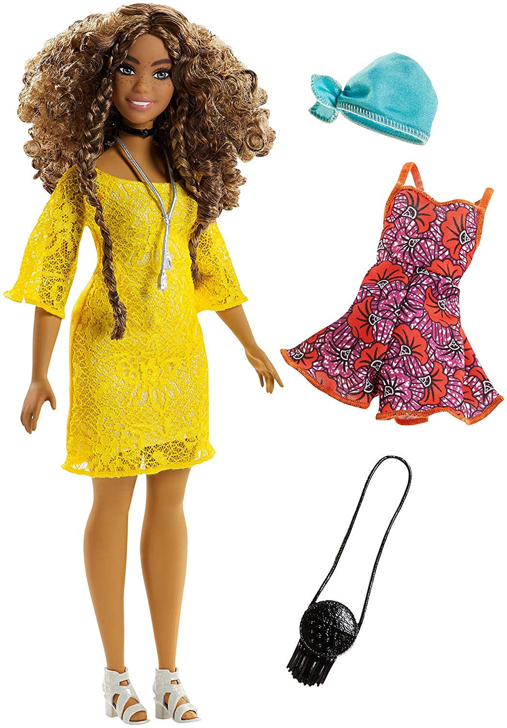Barbie Fashionistas Doll No 85 Glam Boho , Curvy