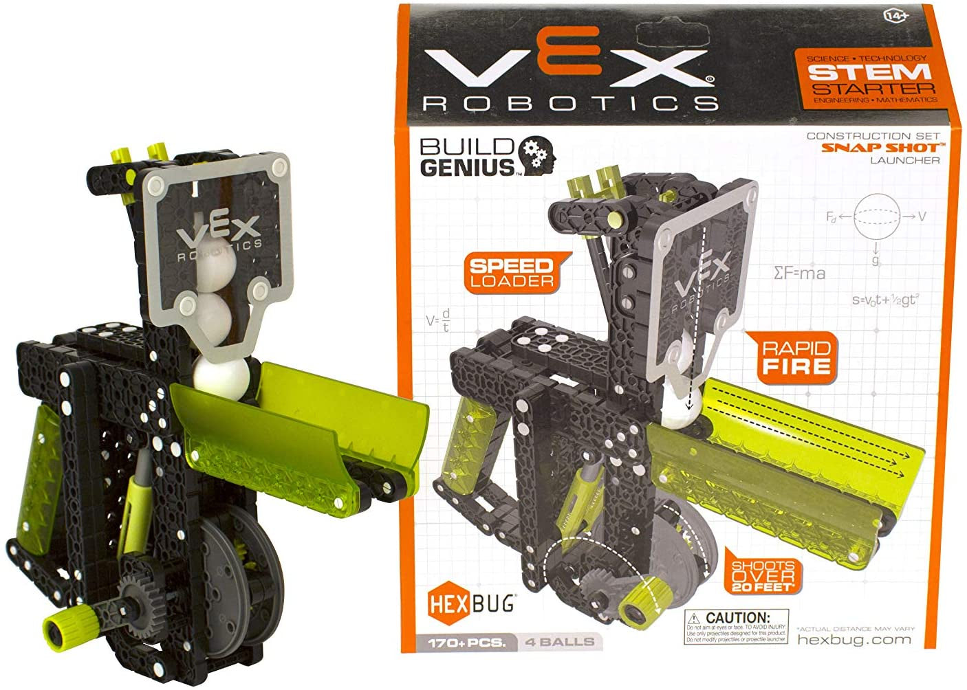 HEXBUG VEX Robotics Snap Shot Launcher