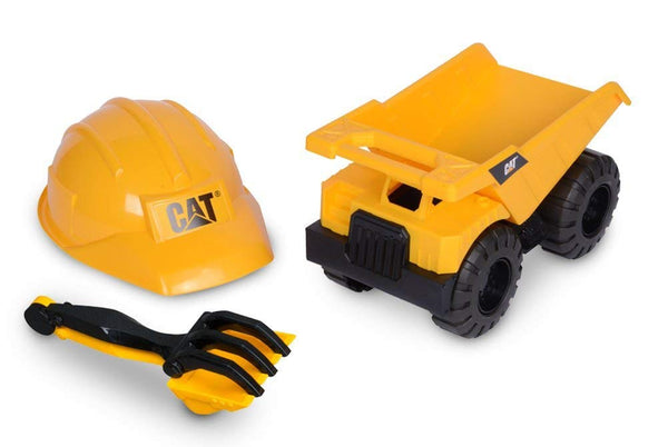 CAT Tough Tracks Construction Crew Sand Set