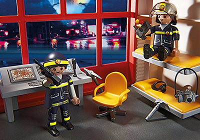 Playmobil City Action 5361 Fire Station With Alarm