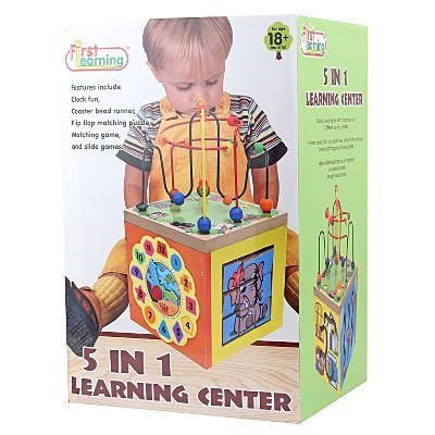 First Learning 5 in 1 Activity Learning Center