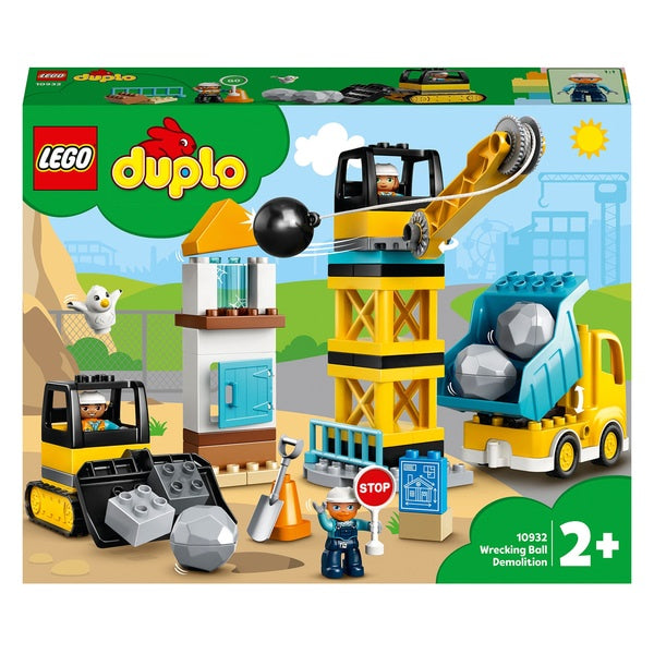 Lego Duplo 10932 Wrecking Ball Demolition