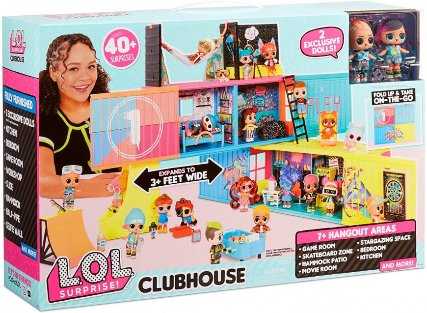 LOL Surprise! Clubhouse Playset