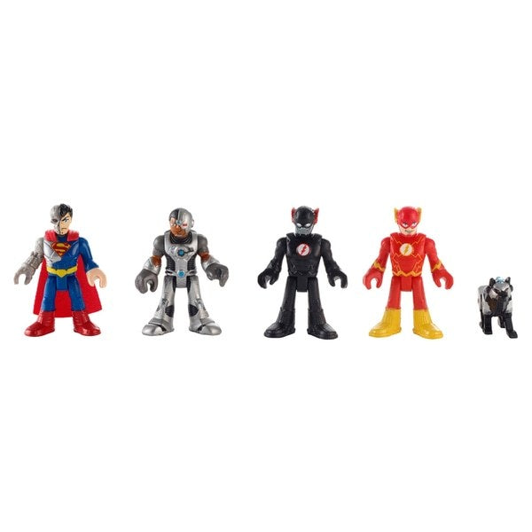 Imaginext DC Super Friends Heroes And Villains Figure Set