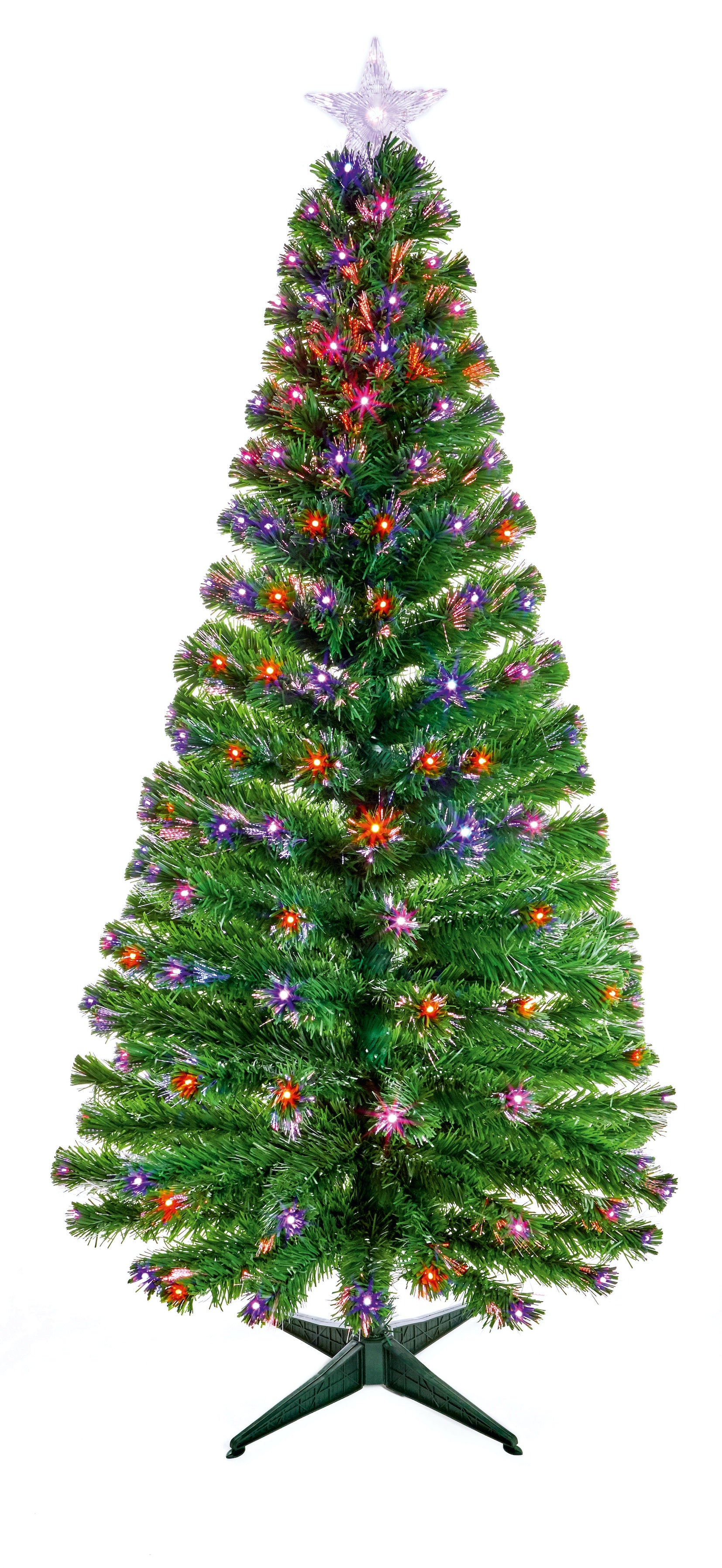 1.8Mtr Colour Morph LED Tree with Star