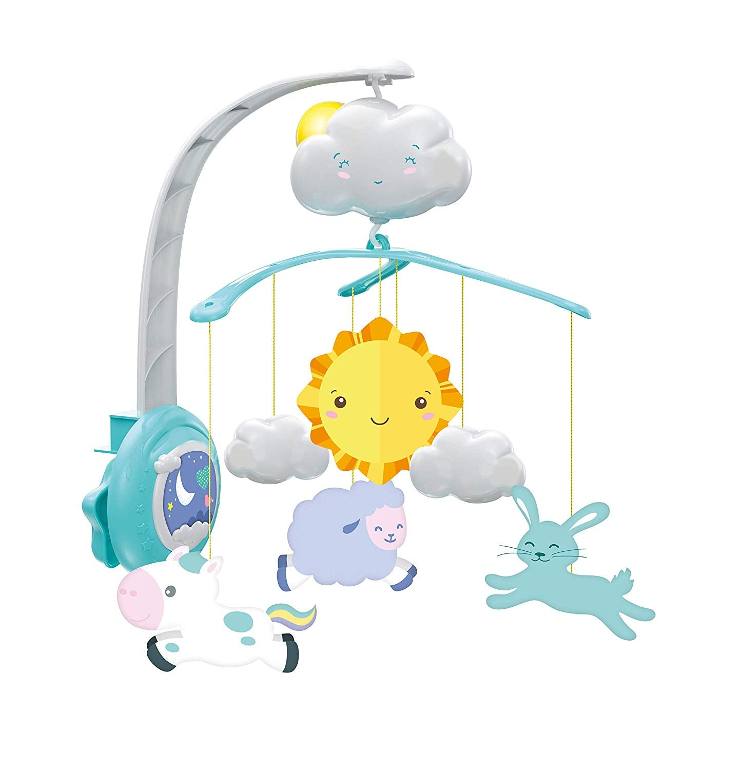 Baby Clementoni Sweet Cloud Cot Mobile