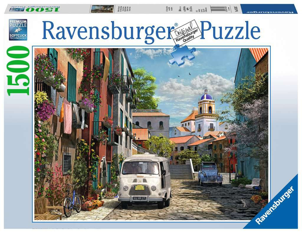 Ravensburger Idyllic South Of France 1500pc Jigsaw Puzzle