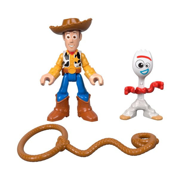 Toy Story 4 Imaginext Forky & Woody