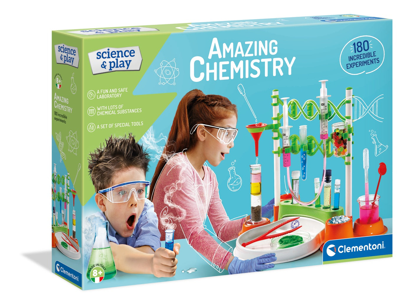 Science And Play Amazing Chemistry Set