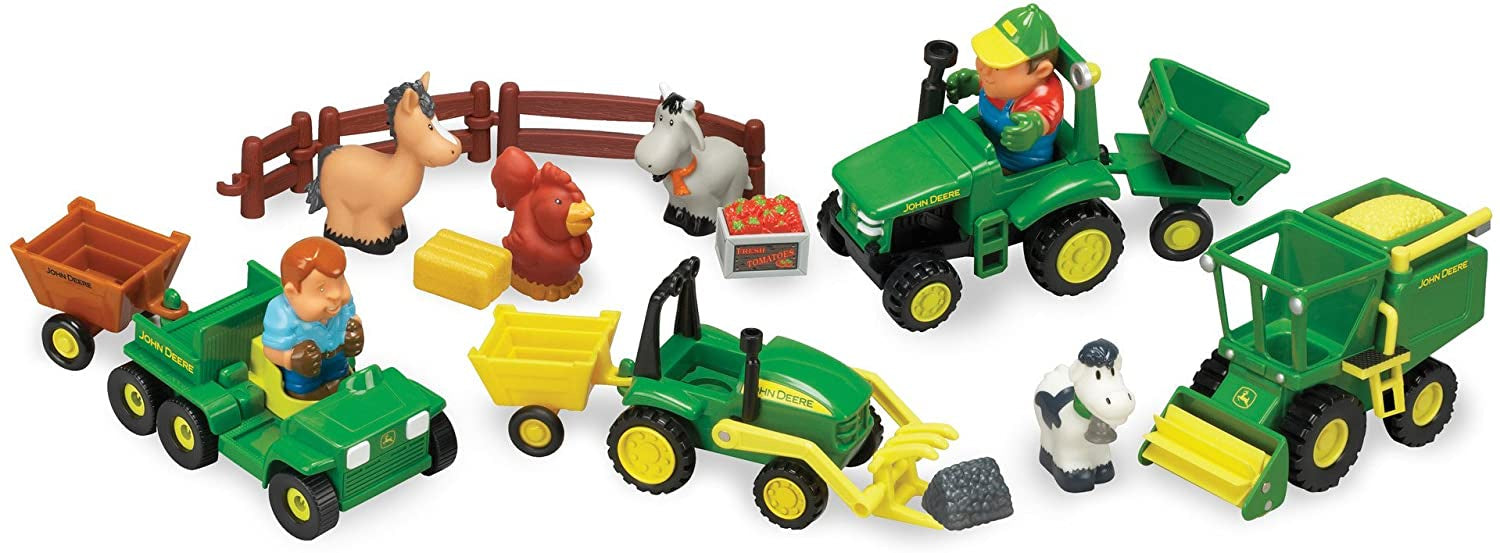 Tomy 1st Farming Fun On The Farm Playset