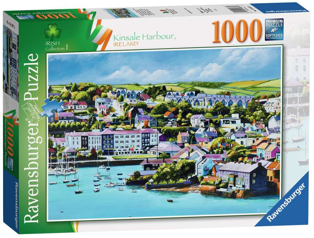 Ravensburger Kinsale Harbour 1000pc Jigsaw Puzzle