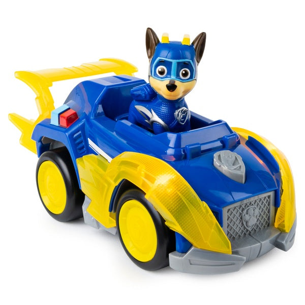 Paw Patrol Mighty Pups Super Paws Chase Deluxe Vehicle