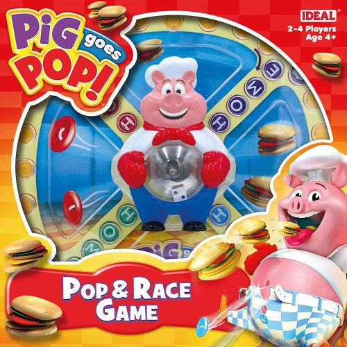 Pig goes Pop Pop And Race Game
