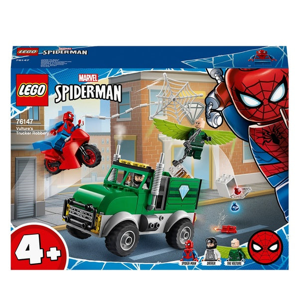 Lego SpiderMan 76147 Vulture's Trucker Robbery