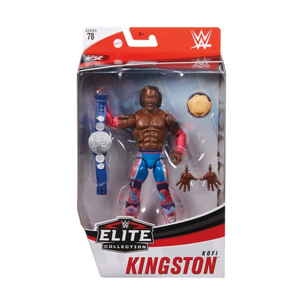 WWE Wrestling Figure Elite Collection Kingston