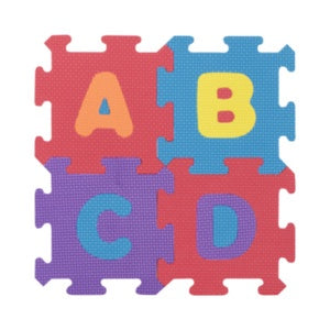 Little Hero A-Z and 0-9 Foam Puzzle Mat