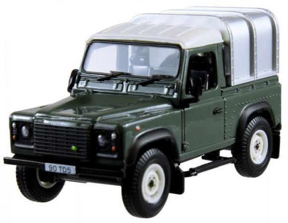 Britains 42732 Landrover Defender 90 with Canopy