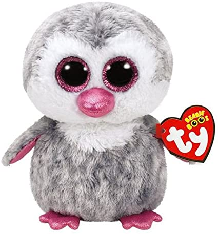 TY Olive Owl Beanie Boo Medium Soft Toy