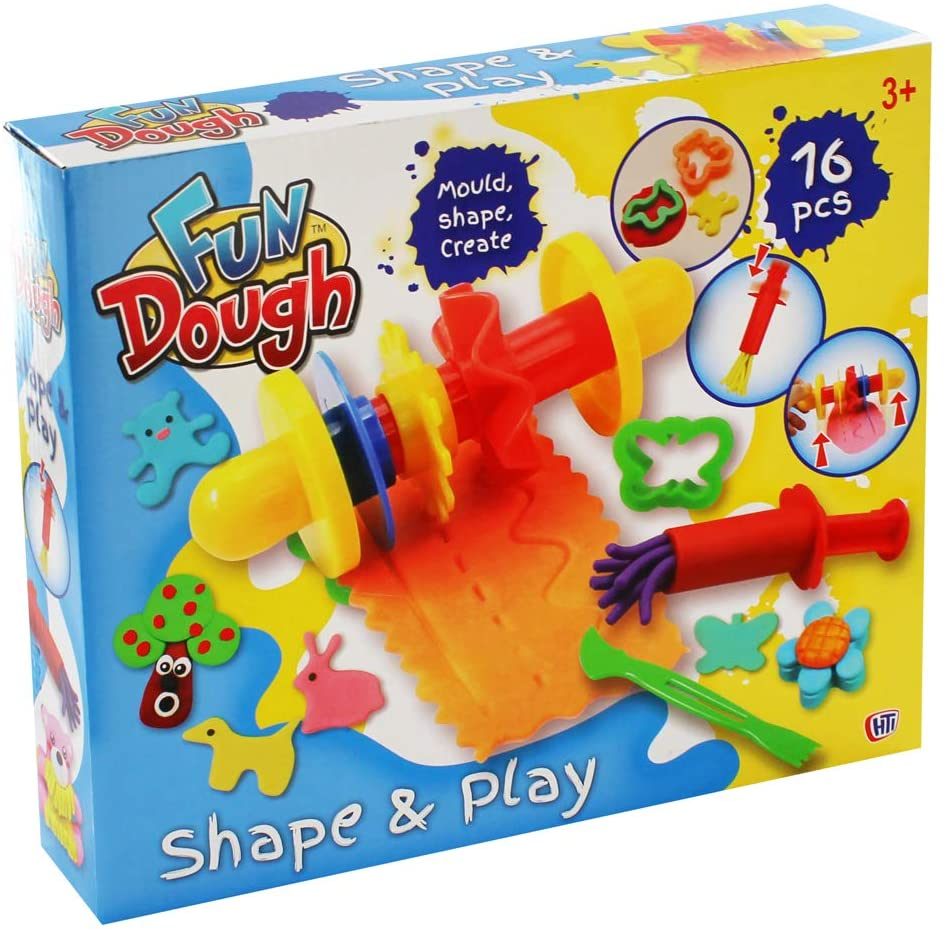 Fun Dough Play-Doh Shape And Play Playset