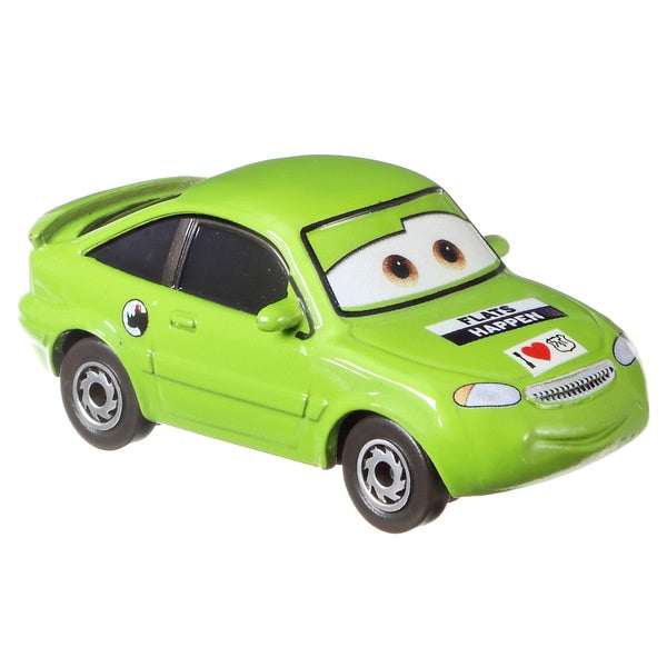 Disney Cars Die Cast Vehicle Nick Stickers