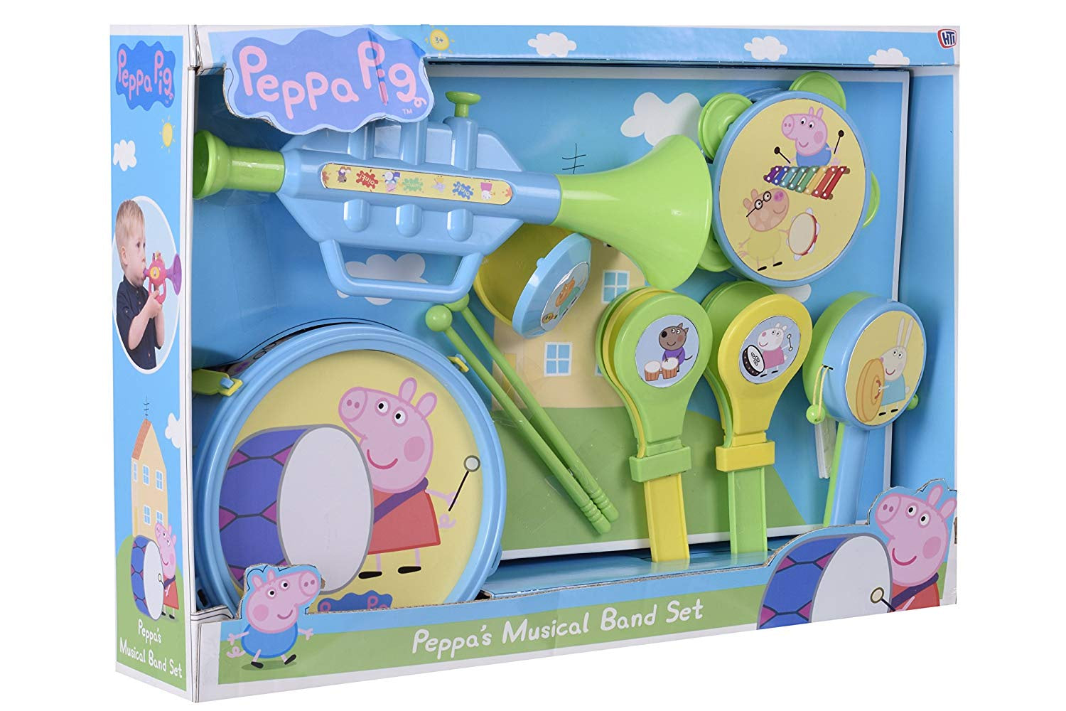Peppa Pig Peppa's Musical Band Set