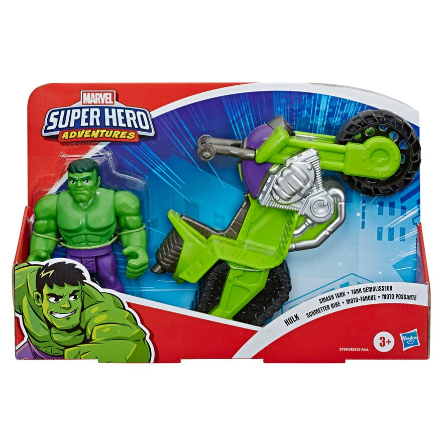 Marvel Avengers Super Hero Adventures Hulk And Smash Tank Vehicle