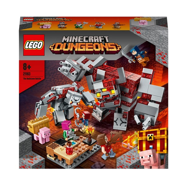 Lego Minecraft Dungeons The Redstone Battle