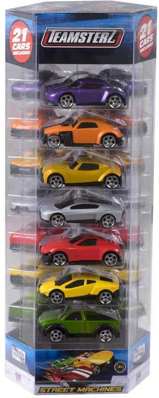 Teamsterz Die Cast Car 21pk Tube